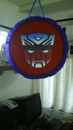 Piñata transformers autobots