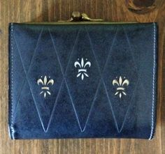 Vintage Lady Buxton Leather Wallet by Piklandia on Etsy