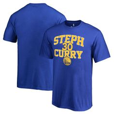 Stephen Curry Golden State Warriors Youth Baller T-Shirt - Royal