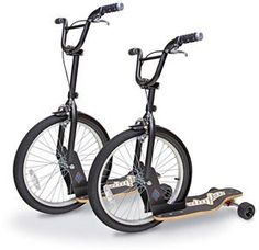 sbyke hibrido de bicicleta y monopatin