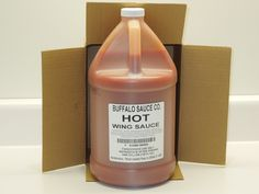 Pellicano's  Buffalo Sauce Co. -Hot Wing (Gal) Jug