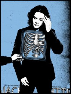 Jack White Posters by Rob Jones