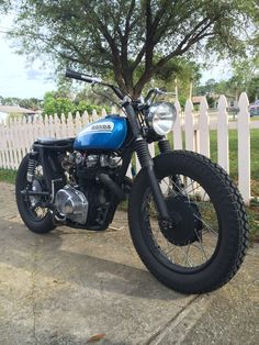 Honda CL450 retro bike…