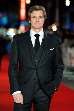GAMBIT (2012) ~ Colin Firth attending the premiere of Gambit, at the Empire cinema in Leicester Square, London.