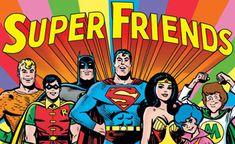 Super Friends - BEFORE the Wondertwins