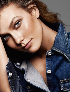 visual optimism; fashion editorials, shows, campaigns & more!: karlie classe: karlie kloss by alique for glamour france june 2015