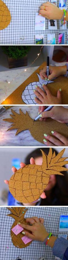 Summer Inspo Board | 18 DIY Summer Tumblr Room Decor Ideas that are insanely cute!