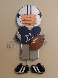 Jr. Dallas Cowboy - this might just have to go on my sons wall!