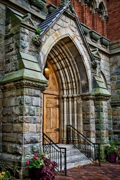 Door to St. Anne's in color by Steven Wosina, via 500px