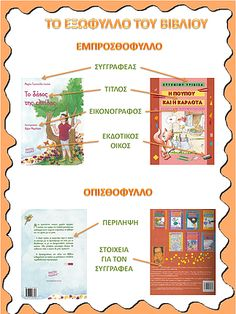 Check it out! Behavior Punch Cards, Greek Language, Book Folding, School Lessons, Library Books, School Projects, Elementary Schools, Childrens Books, Literacy