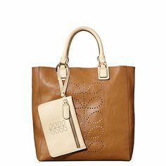 Structured Stem Leather Willow Bag
