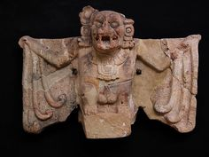 Honduras Copan  mayan figure