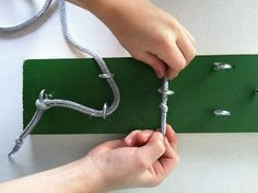 Loop Board -  Pinned by @PediaStaff – Please Visit http://ht.ly/63sNt for all our pediatric therapy pins