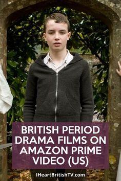 Amazon Prime Tv Series, Best Amazon Prime Movies, Amazon Movies, Amazon Prime Video, Best Period Dramas, Period Drama Movies, British Period Dramas, British Drama Series, Netflix Movies To Watch