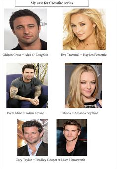 My cast choices for Crossfire series (page 1)