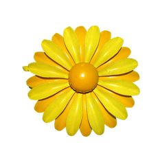 Vintage 60s Flower Brooch / Enamel Flower by BreesVintageRevivals, $14.00