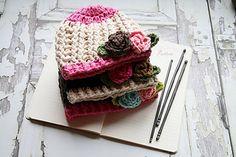 Baby Girl Crochet Hat Pattern by Ruby Webbs