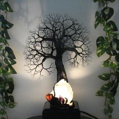 Wire Tree Of Life sculpture Ancient Grove Spirits by CrowsFeathers, $295.00