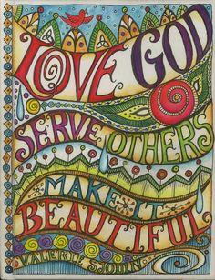 Art journal, visual blessings: my motto Art Journal Pages, Art Journaling, Bible Journal, Journal Prompts, Scripture Art, Bible Art, Lds Art, Round Robin, My Motto