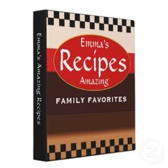 Make your own cookbook- great for gift!