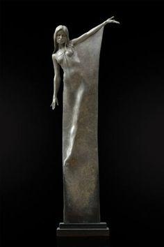 "Saatchi Art Artist Michael Talbot; Sculpture, ""Seraphina"" #art"