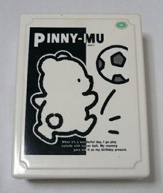ピニームーは、87年に誕生した元気な茶色いくまの男の子のキャラクターです。 実は、「たれぱんだ」以前のサンエックスでは最大のヒットキャラクターなのだそうです。