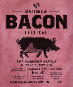 THE GREAT CANADIAN BACON FESTIVAL