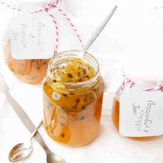 Homemade Pineapple and Passionfruit Jam Thermomix