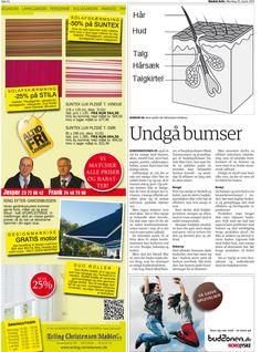 25 Marts 2013 - Sindal Avis bringer Danish Skin Cares vejledning til at undgå bumser