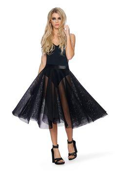 edd11e1d534 Caught Midi Skirt