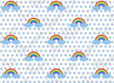 Rainbow Digital Paper  Scrapbook  DIY Projects  by blossompaperart, $1.30