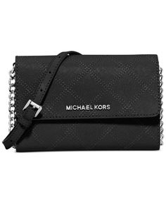 Michael Michael Kors Jet Set Travel Large Cross Stitch Phone Crossbody