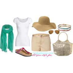"""""""Vacation Look #13"""" by bridgetteraes on Polyvore"""