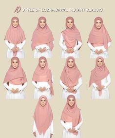 By Jimmy Scarves – Hijab Fashion 2020 Square Hijab Tutorial, Simple Hijab Tutorial, Hijab Style Tutorial, Stylish Hijab, Hijab Chic, Hijab Mode Inspiration, Hijab Gown, How To Wear Hijab, Moslem Fashion