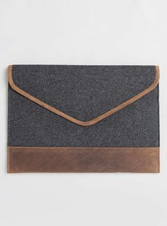 Grey Melton Ipad Case - £20