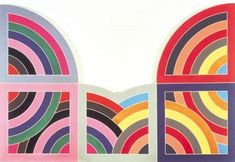 """Hagamatana II"" by Frank Stella (1967)."