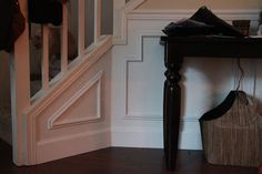 Prepping walls for finish work: The House Creative: DIY Custom Wainscoting