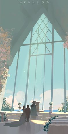 Study & doodle By Krenz Cushart Animation Background, Art Background, Art Environnemental, Creation Art, Anime Scenery, Environment Design, Fantasy Landscape, Environmental Art, Digital Illustration