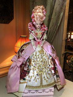 Beautiful Figure, Beautiful Dolls, Fashion Royalty Dolls, Fashion Dolls, Vintage Barbie, Vintage Dolls, Barbie Clothes, Barbie Dress, 18th Century Fashion