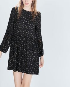 ZARA - WOMAN - BASIC PRINTED DRESS