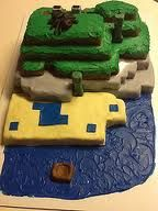 minecraft cake - Google Search