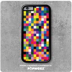De la couleur à foison pour la coque iPhone 6 Pixels en exclusivité sur popweez.com à 19,95 euros
