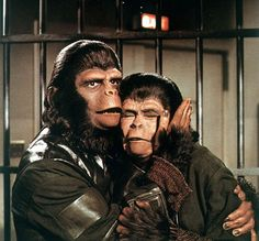 Archives Of The Apes: Roddy McDowall as Cornelius, Kim Hunter as Zira