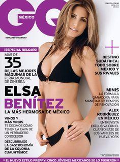 Abril en GQ con Elsa Benítez