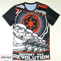 ae5db668da Star Wars Revolution Graphic Tee 3d T Shirts