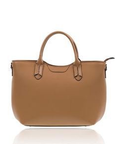 The camel shoulder bag. From The Fashion Connector
