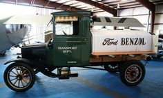 Ford T-Modell - Tankwagen - Grand Canyon Airport, Valle, Arizona