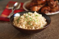 Simple Asian Rice makes the perfect accompaniment to any Asian inspired meal. Easy to make and versatile, this rice recipe is one you'll never get tired of. Salty and savory, this rice is just flavorful Rice Side Dishes, Food Dishes, Honey Soy Chicken, Asian Chicken, Sesame Chicken, Chicken Rice, Side Dish Recipes, Dinner Recipes, Thai Recipes
