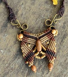 African tribal necklace by CuraWay on Etsy