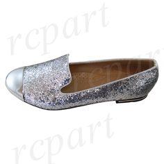 Women'S Shoes Rhinestones Ballet Flats Blink Blink Wedding Casual Silver
